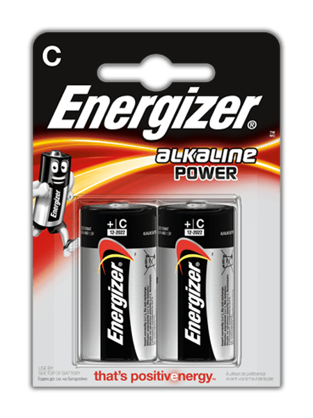 Baterie LR14/C Energizer Power , 2 ks (blistr)