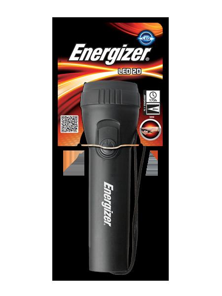 LED svítilna ENERGIZER Black Silver 2D