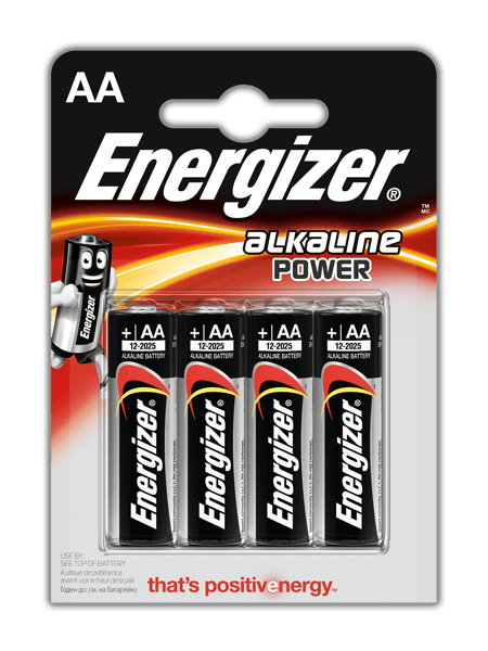 Baterie AA/LR6 ENERGIZER Power, 4 ks (blistr)