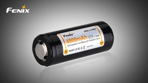 Dobíjecí baterie Fenix 26650 4800mAh (Li-Ion)