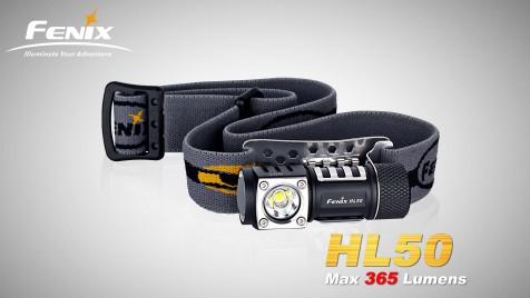 LED čelovka Fenix HL50