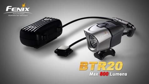 Nabíjecí cyklo svítilna Fenix BTR20