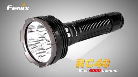LED svítilna nabíjecí Fenix RC40 6xCree XM-L2, 6000lm