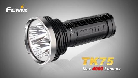 Taktická LED svítilna Fenix TK75 2015 Edition