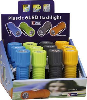 LED svítilna EMOS, 6 LED diod, 38lm