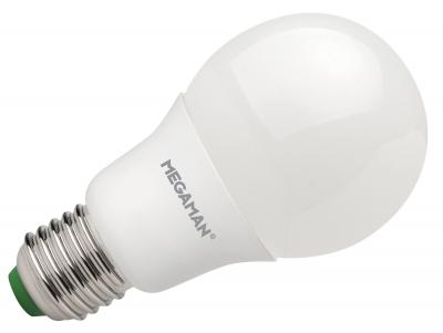 LED žárovka 11W (75W) E27 MEGAMAN, teplá bílá