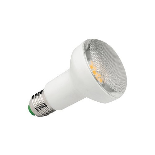 LED R63 7,5W (79W) E27, MEGAMAN, teplá bílá