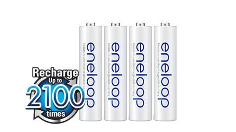 Baterie AAA/HR03 800mAh Panasonic ENELOOP, 4 ks (bulk)