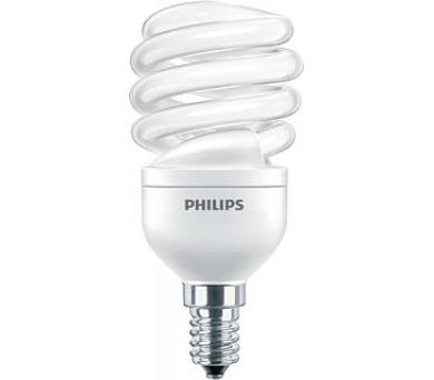 PHILIPS úsporná zářivka 12W E14, teplá bílá