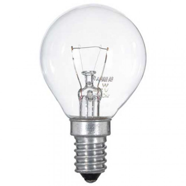 Žárovka mini globe 60W E14, NARVA, čirá