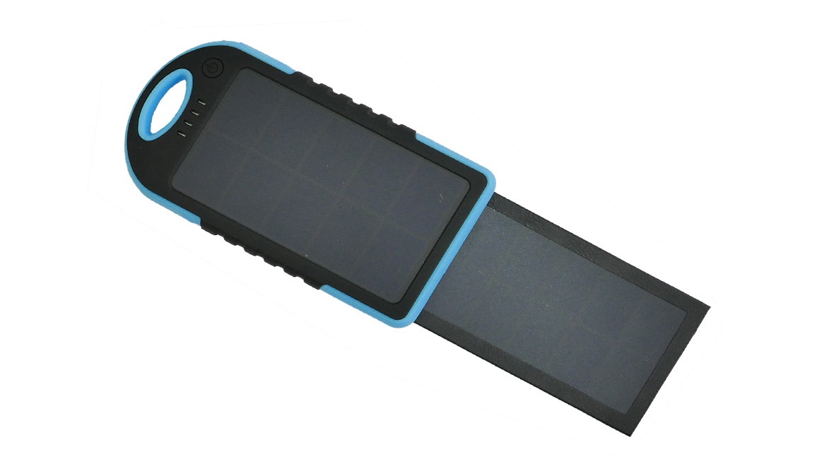 Solární powerbanka 5000 mAh