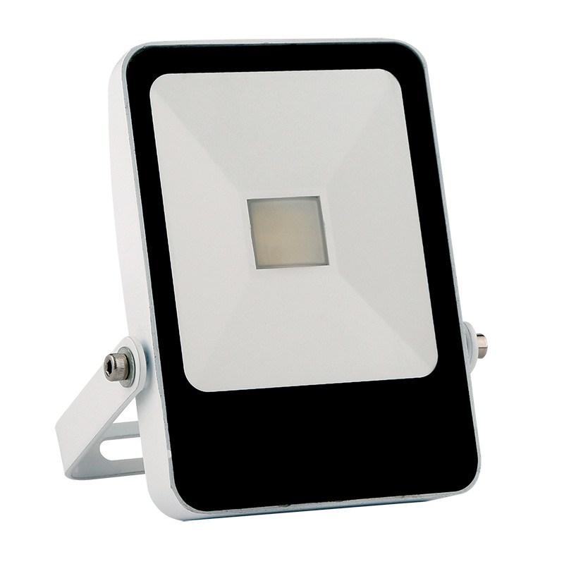 Solight LED venkovní reflektor STYLE, 10W, 700lm, 4000K, bílá