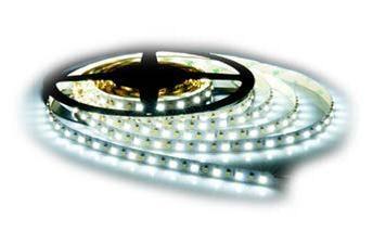 Solight LED světelný pás, 5m, SMD3528 60LED/m, 4,8W/m, IP65, studená bílá