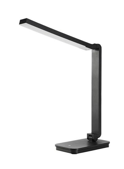 Solight LED stolní lampička stmívatelná, 5W, 4100K, černá