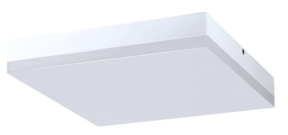 LED svítidlo 24W, 1920lm, 4000K, IP44, čtvercové, přisazené, 28cm, SOLIGHT