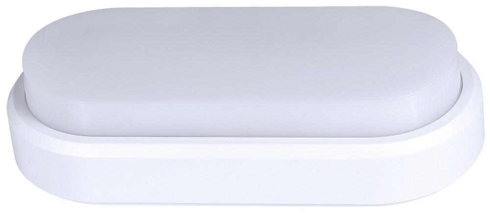 Solight LED venkovní osvětlení, přisazené, oválné, IP54, 18W, 1400lm, 3000K, 23cm