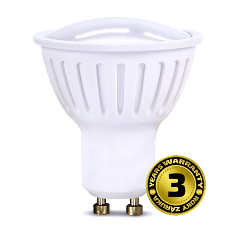 LED GU10 3W (25W), SOLIGHT, studená bílá