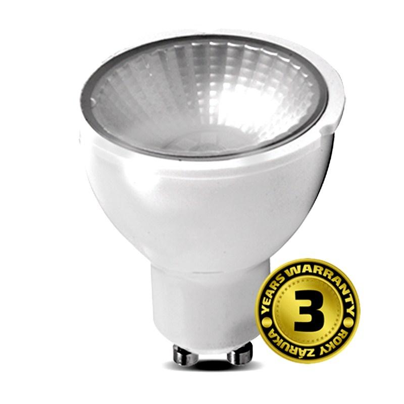LED GU10 5W (35W) se stmívačem, SOLIGHT, teplá bílá