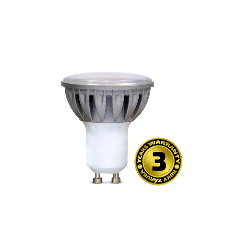 LED GU10 7W (50W), SOLIGHT, denní bílá