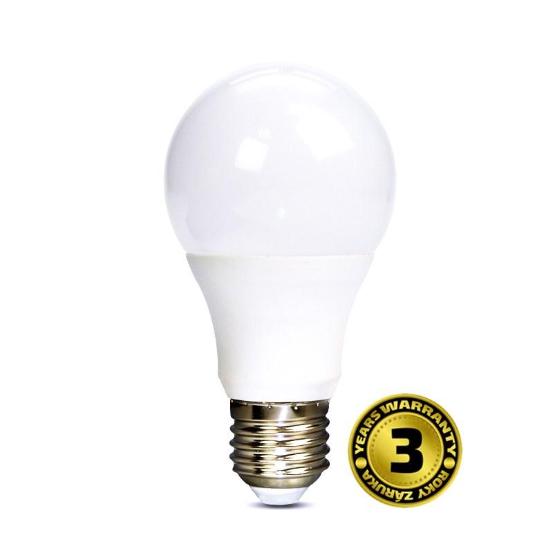 LED žárovka 7W (43W) E27 SOLIGHT, denní bílá
