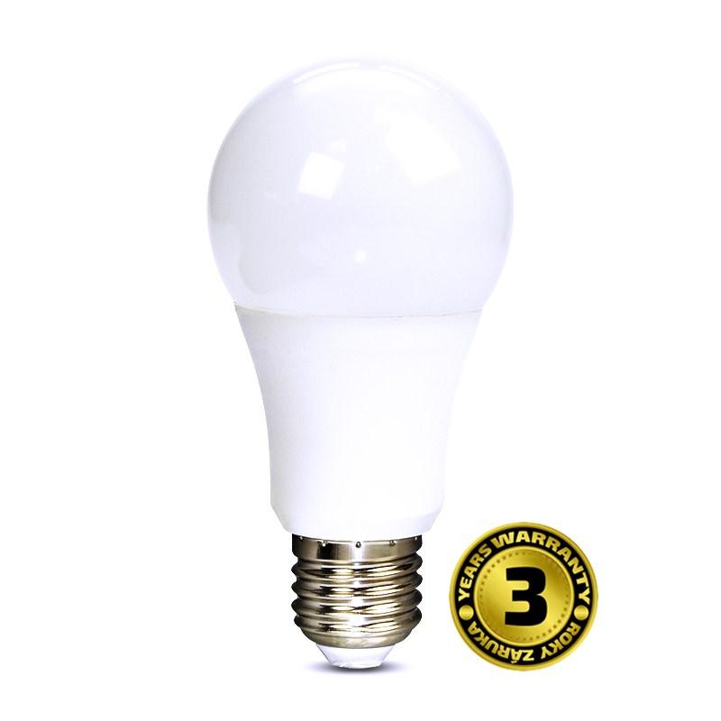 LED žárovka 10W (60W) E27 SOLIGHT, denní bílá