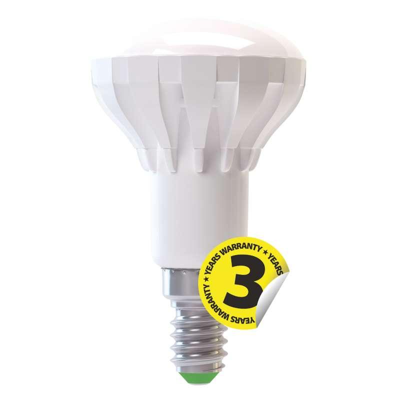 LED R50 6W E14, EMOS, teplá bílá